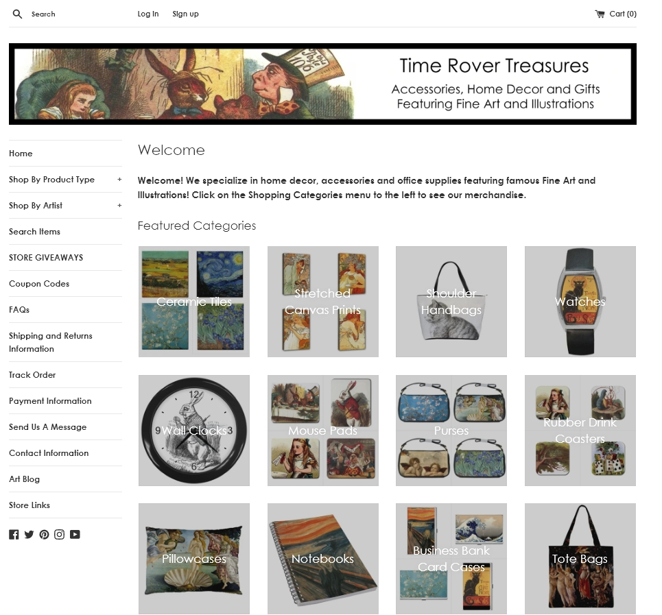 Time Rover Treasures Home Decor Accessories Gifts